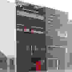herenhuis IJburg Steigereiland Tropische huizen van Florian Eckardt - architectinamsterdam Tropisch
