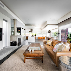Designer Costal Home Modern living room by D-Max Photography Modern