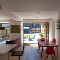 Hillhead Refurbishment 03 Comedores de estilo moderno de George Buchanan Architects Moderno