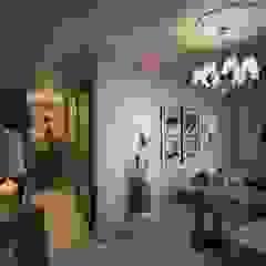 Salones de estilo ecléctico de Marina Sarkisyan Ecléctico