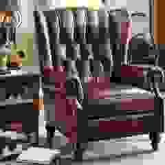 Classic Leather Armchair Locus Habitat Living roomSofas & armchairs