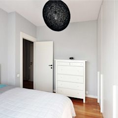Scandinavian style bedroom by NBArchitects Scandinavian