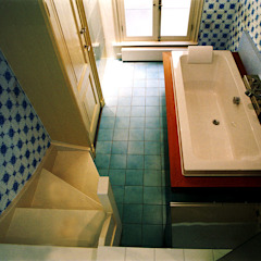 Restauratie Bemuurde Weerd Oostzijde 14, Utrecht Eclectische badkamers van ABC-Idee Eclectisch