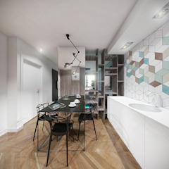 Modern Kitchen by HUK atelier Modern