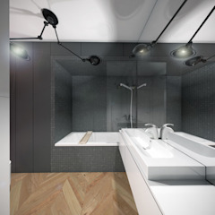 Modern Bathroom by HUK atelier Modern