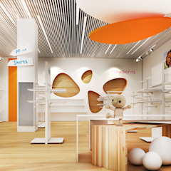 Baby Store Офисы и магазины в стиле модерн от Zikzak architects Модерн