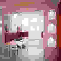 Dom z poddaszem Minimalistyczna kuchnia od Axentim Minimalistyczny