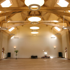 Centros de convenciones de estilo rural de Architectenbureau Van Hunnik, Lambrechts en Overduin Rural
