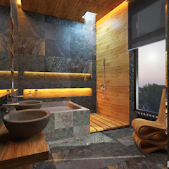 Eclectic style bathroom by GM-interior Eclectic