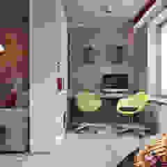 Bureau industriel par Студия архитектуры и дизайна Дарьи Ельниковой Industriel