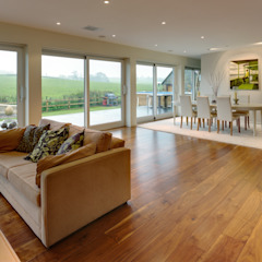 Muswell House Modern living room by Adrian James Architects Modern