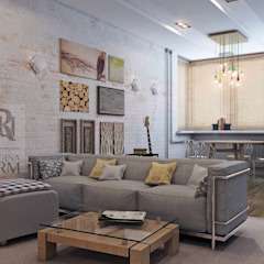Industrial style living room by Урм Регина Industrial