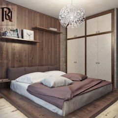 Industrial style bedroom by Урм Регина Industrial