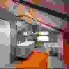 Salle de bain industrielle par Студия дизайна Натали Хованской Industriel