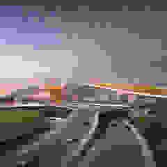 Beijing Daxing International Airport Aeroportos asiáticos por Zaha Hadid Architects Asiático