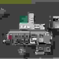 Tropische huizen van Atelier O'Reilly Tropisch