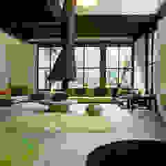 Tropical style living room by ARQdonini Arquitetos Associados Tropical