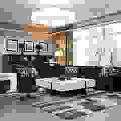 Студия Искандарова Modern Living Room