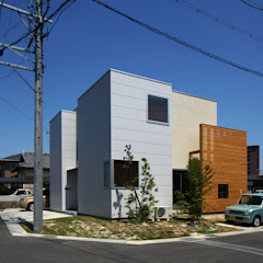 Casas estilo moderno: ideas, arquitectura e imágenes de アトリエ ヴォイド・セット一級建築士事務所 Moderno