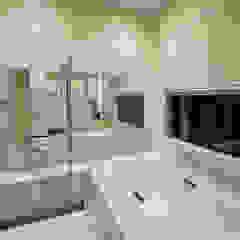 フキの家 モダンスタイルの お風呂 の H建築スタジオ モダン