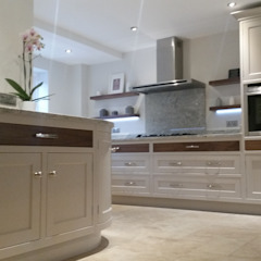 Floating shelves Country style kitchen by Place Design Kitchens and Interiors Country