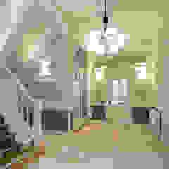 Renovatie herenhuis te Den Haag Klassieke gangen, hallen & trappenhuizen van Kodde Architecten bna Klassiek