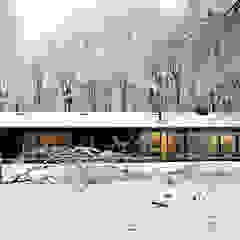 Scandinavian style garage/shed by Bedaux de Brouwer Architecten Scandinavian