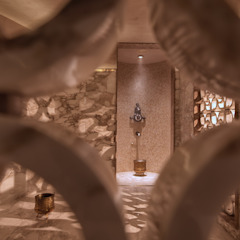 Drummonds Case Study: Urban Retreat Hammam at Harrods by Drummonds Bathrooms Mediterranean