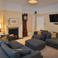 Living Room Cathy Phillips & Co Salon classique