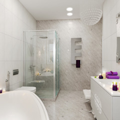 гранит Ванная комната в стиле минимализм от pashchak design Минимализм