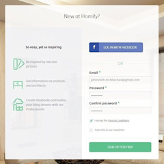 How do I create a professional profile on homify? by homify Singapore