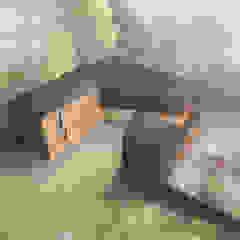 Interactivity Case moderne di MZO TARR Architects Moderno