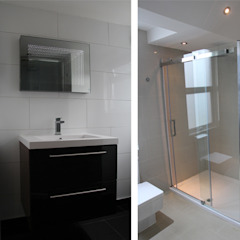 House in Tooting Bolans Architects Modern bathroom