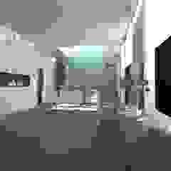 Minimalist living room by gk architetti (Carlo Andrea Gorelli+Keiko Kondo) Minimalist