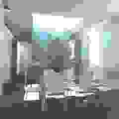 Minimalist dining room by gk architetti (Carlo Andrea Gorelli+Keiko Kondo) Minimalist