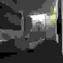 Minimalist bedroom by gk architetti (Carlo Andrea Gorelli+Keiko Kondo) Minimalist