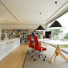 Bureau moderne par Jorge Belloch interiorismo Moderne