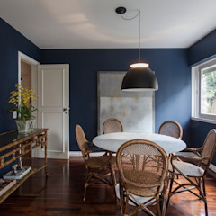 Eclectic style dining room by Pereira Reade Interiores Eclectic
