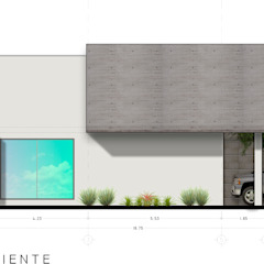 Modern houses by RAFAEL GUZMAN MADRID TALLER DE ARQUITECTURA Modern