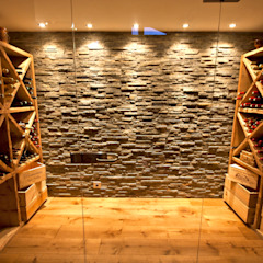 Country style wine cellar by shep&kyles design Country