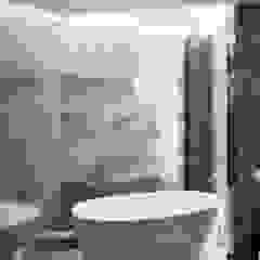 Галина Глебова Minimalist style bathroom