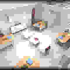 özlem tokerim iç mimarlık ve tasarım – modern ofis tasarımı: modern tarz , Modern