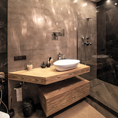 Industrial style bathroom by Александр Михайлик Industrial