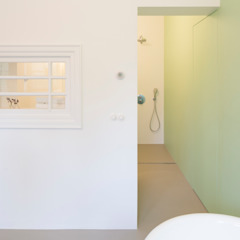 Industriële badkamers van homify Industrieel