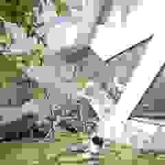 HWA HUN - 자연이 점거한 작은성 모던스타일 정원 by IROJE KIMHYOMAN 모던