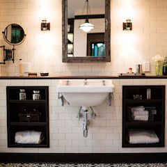 Drummonds Case Study: Loz Feliz Retreat, California by Drummonds Bathrooms Mediterranean