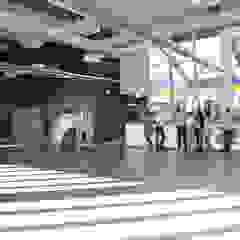 NUOVO CENTRO DI FORMAZIONE PROFESSIONALE E LICEO ENOGASTRONOMICO A NOVENTA PADOVANA (PD) Scuole in stile industrial di Studio Rossettini Industrial