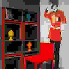 Leticia Sá Arquitetos Modern living room