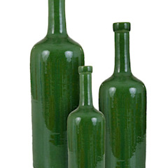 Classic Bottle Set, Glazed Earth and Fire Lab SalasAccesorios y decoración