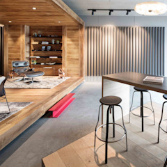 Showroom design - Hakwood Studio Tirol Moderne winkelcentra van Standard Studio - Amsterdam Modern
